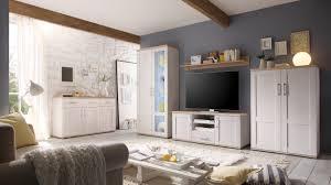 Wohnzimmerschrank Mit Vitrine Romance Sideboard Kommode Anrichte Wohnzimmerschrank Wohnzimmer