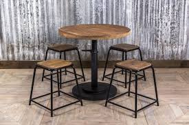 industrial look table small bar or restaurant table