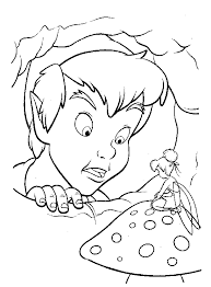 tinkerbell a4 colouring pages printable tinkerbell free download