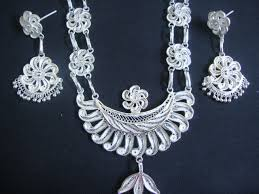 shop silver filigree odissi ornaments shopping for
