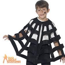 Childrens Spider Halloween Costume Child Spider Cape Boys Girls Fancy Dress Halloween Costume