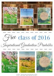 class of 2016 graduation a glimpse inside three free inspirational class of 2016