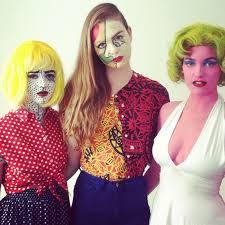 Pop Art Halloween Costume Ideas 30 Pop Art Schminken Images Costumes