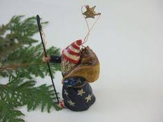 79 lou schifferl ornament santa owl
