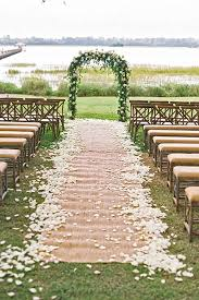 wedding arches decorated with burlap 30 chic rustic burlap lace wedding decor ideas lace weddings