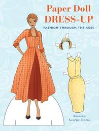 doll design book paper doll dress up book by georgie fearns official publisher