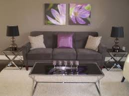 purple and grey living room decor aecagra org