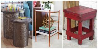 Diy Side Table 13 Quick And Easy Diy Side Tables