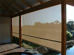 Shade Awnings Melbourne Patio Pvc And Mesh Roller Blinds Shade Blinds For Pergolas