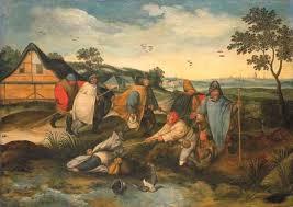 Pieter Bruegel Blind Leading The Blind Rediscovered 8 3 Million Claude Lorrain Leads Christie U0027s December