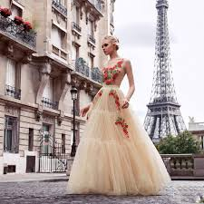 aliexpress com buy tulle champagne red evening dresses long