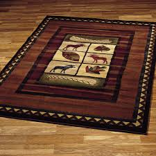 pine cone area rug moose rugs roselawnlutheran