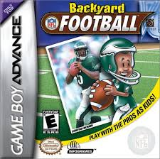 Backyard Football Rules The Video Game Museum Game Boy Advance Scans