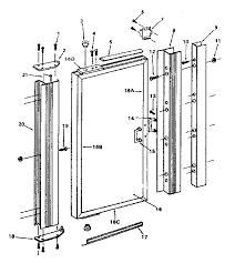 shower door seal replacement parts bath shower screen door seal