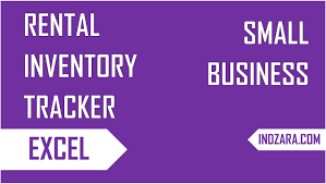 Excel Rental Template How To Track Inventory Of Rented Items Rental Inventory Tracker
