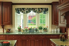 over the sink kitchen window treatments decorating clear