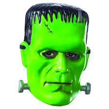 frankenstein mask universal monsters frankenstein deluxe mask target