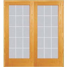 Interior Double Doors Without Glass French Doors Interior U0026 Closet Doors The Home Depot
