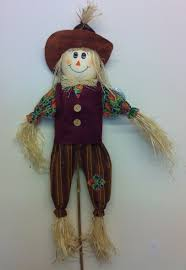 garden ornament boy scarecrow decorative feature 6