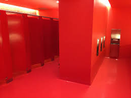 red bathroom 1 yesterday the san francisco museum of mod u2026 flickr