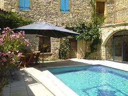 chambre d hote uzes avec piscine proche d uzes ancienne magnanerie de joliment restaurée