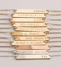 custom jewelry engraving best 25 engraved necklace ideas on personalized