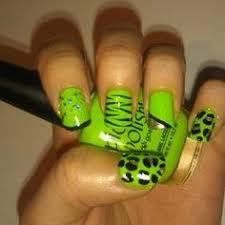 pink and green nail art nails pinterest green nail art