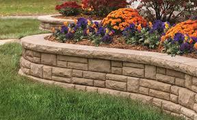 garden retaining wall design improbable backyard retaining wall