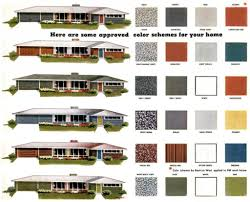 Home Design Exterior Color Schemes Exterior Paint Schemes For Ranch Homes Collection Ranch Style