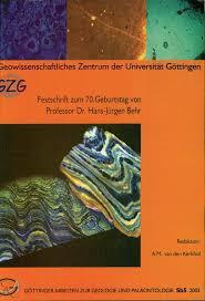 GZG Festschrift 70er Prof Dr H J Behr
