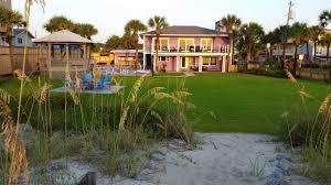st augustine beach oceanfront pool vacation rental