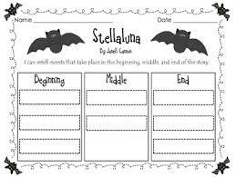 stellaluna story plot by amber morrow teachers pay teachers