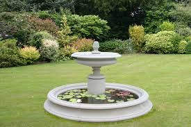 top outdoor garden fountain with please see fountain pool surround