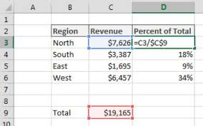 percentage calculator excel calculating a percent distribution in excel dummies