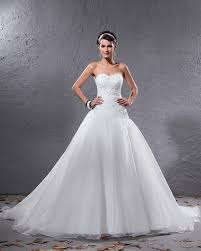 white wedding dresses sweetheart pleated beaded white gown wedding dress on sale