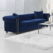 navy blue sofa and loveseat navy blue sofa wayfair