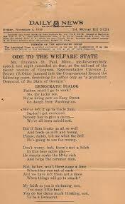 welfare state u2013 the burning platform