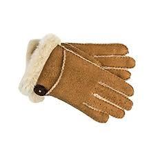 ugg gloves sale office ugg s side vent bailey glove chestnut lg at amazon s