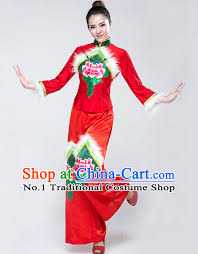 Chinese Costume Halloween Chinese Competition Dance Dress Children Girls