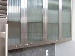 kitchen cabinets doors glass for every kitchen types stainless