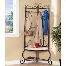 corner coat rack and bench foter