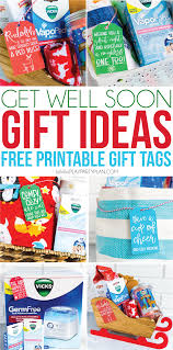 get well soon basket ideas get well soon gifts free printable cards play party plan