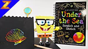 scratch n sketch spongebob squarepants drawing videos for kids how