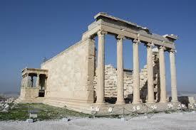 greek temple floor plan erechtheion ancient history encyclopedia
