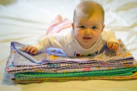 mini tutorial super simple baby blanket modern parents messy kids