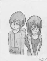 pencil sketches of boy and a in love drawing of sketch