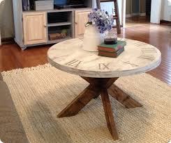 pier 1 coffee table pier 1 knock off clock coffee table i love how unique this table