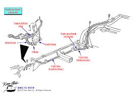 keen corvette 1969 corvette fuel lines parts parts accessories for corvettes