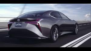 lexus concept sports car the lexus lf fc concept beyond the conventional youtube