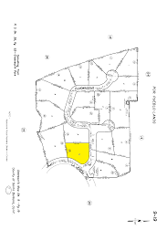 La County Assessor Map 145 La Vereda Highlighted Parcel Map Png